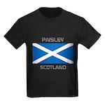 Paisley Scotland Kids Dark T-Shirt