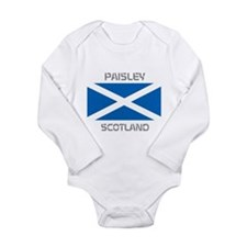 Paisley Scotland Long Sleeve Infant Bodysuit
