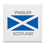 Paisley Scotland Tile Coaster