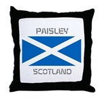 Paisley Scotland Throw Pillow