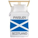 Paisley Scotland Twin Duvet