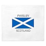Paisley Scotland King Duvet