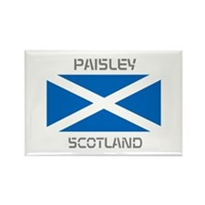 Paisley Scotland Rectangle Magnet