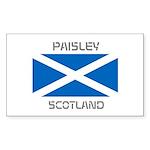 Paisley Scotland Sticker (Rectangle 50 pk)