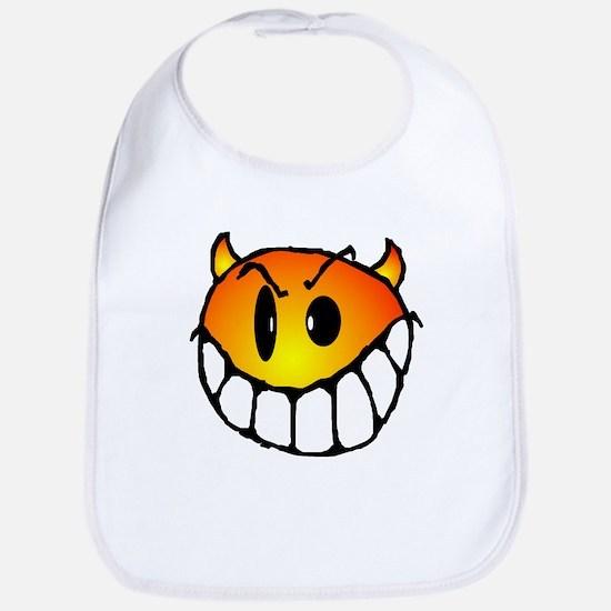 Horny Smiley Bib
