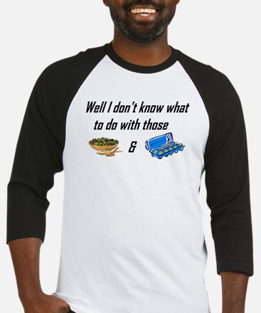 Tossed Salad & Scrambled Eggs Baseball Jersey