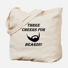 Three Cheers For Beards! Tote Bag