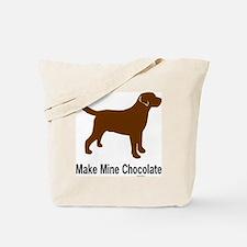 ChocMakeMine2 Tote Bag