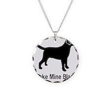 BlkMakeMine Necklace