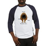 Blood hound Baseball Tee