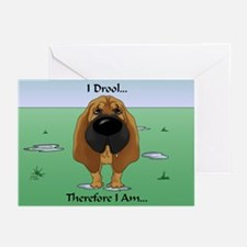 Bloodhound - I Drool Greeting Cards (Pk of 20)