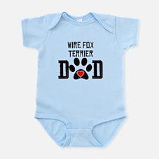 Wire Fox Terrier Dad Body Suit