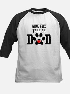 Wire Fox Terrier Dad Baseball Jersey