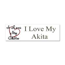 Akita Car Magnet 10 x 3