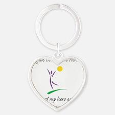 InsideOutHeal Heart Keychain