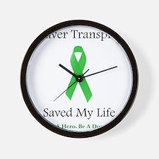 LiverTransplantSaved Wall Clock