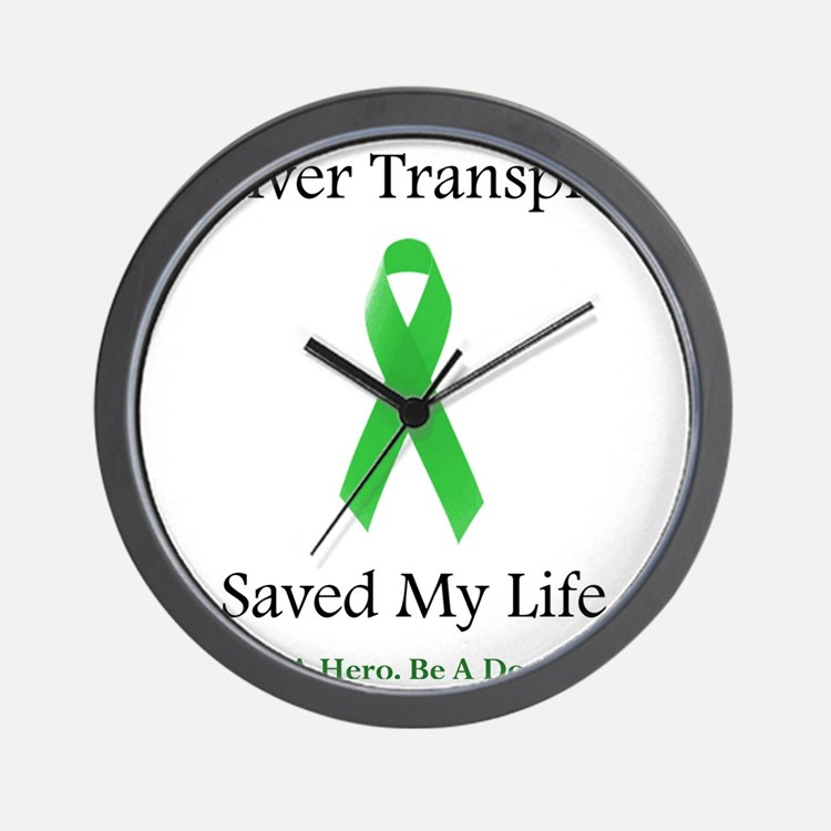 LiverTransplantSaved Wall Clock