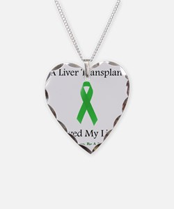 LiverTransplantSaved Necklace