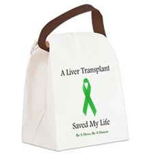 LiverTransplantSaved Canvas Lunch Bag