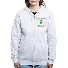 KidneyTransplantSaved Zip Hoodie
