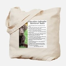 ChocLabRules Tote Bag