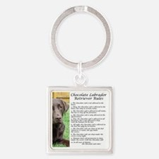 ChocLabRules Square Keychain