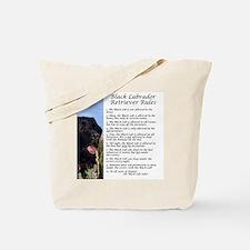 BlackLabRules Tote Bag