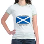 Peterhead Scotland Jr. Ringer T-Shirt