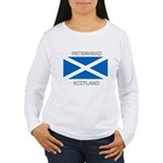 Peterhead Scotland Women's Long Sleeve T-Shirt
