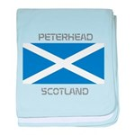 Peterhead Scotland baby blanket
