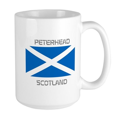 Peterhead Scotland Large Mug