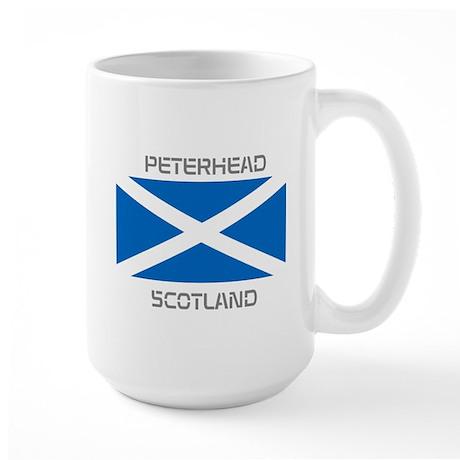 Peterhead Scotland Large Mug