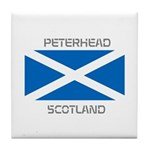 Peterhead Scotland Tile Coaster