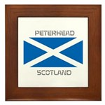 Peterhead Scotland Framed Tile