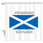 Peterhead Scotland Shower Curtain