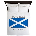Peterhead Scotland Queen Duvet