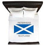 Peterhead Scotland King Duvet