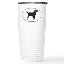 LabradorOvalSill Ceramic Travel Mug