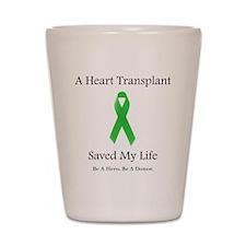 HeartTransplantSaved Shot Glass