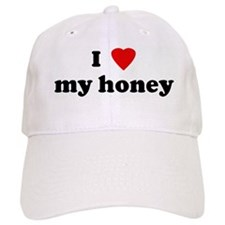 I Love my honey Baseball Cap