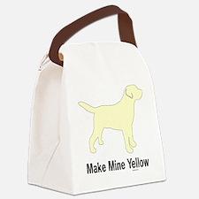 YellMakeMine2 Canvas Lunch Bag