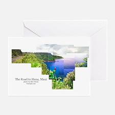 Road to Hana, Maui  Greeting Cards (Pk of 10)
