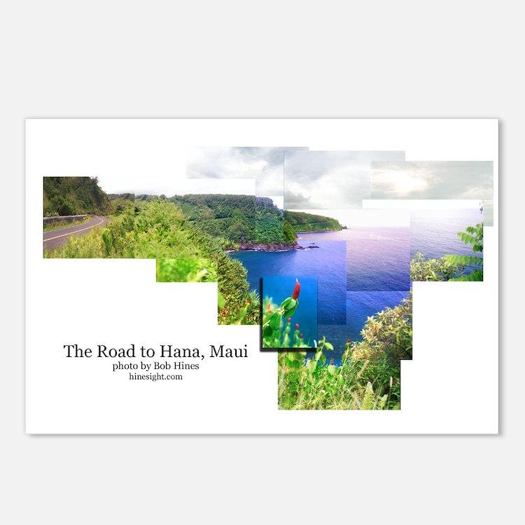 Road to Hana, Maui  Postcards (Package of 8)