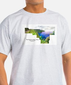 Road to Hana, Maui  Ash Grey T-Shirt