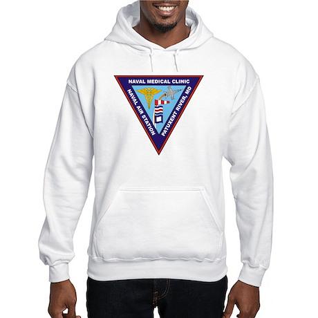 Naval Medical Clinic Hooded Sweatshirt