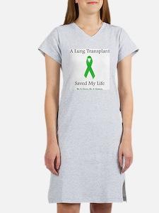 LungTransplantSaved Women's Nightshirt