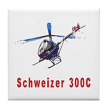 Schweizer 300C Tile Coaster