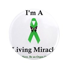 "LivingMiracle 3.5"" Button"