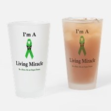 LivingMiracle Drinking Glass