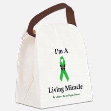 LivingMiracle Canvas Lunch Bag